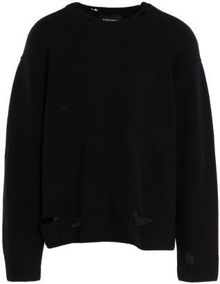 A-Cold-Wall* Destroyed Detailed Knit Sweater