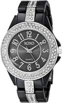 XOXO Women's XO5461 Rhinestone Accent Analog Bracelet Watch