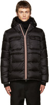 Moncler Black Down Morane Jacket