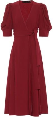 Proenza Schouler CrApe wrap midi dress