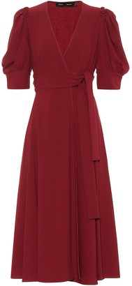 Proenza Schouler Crepe wrap midi dress