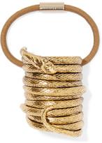 Jennifer Behr Medusa Gold-tone Hair Tie - One size
