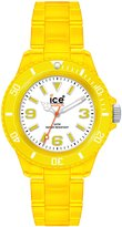 Ice Watch Ice-Watch Women's NE.YW.S.P.09 Neon Collection Clear Yellow Plastic Watch