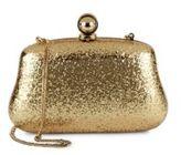 Halston Glitter Mini Clutch