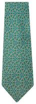 Vintage Green Link Silk Tie