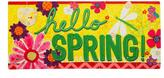 Evergreen Hello Spring Mat