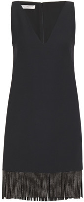 Philosophy di Lorenzo Serafini Frigid Crystal-embellished Twill Mini Dress