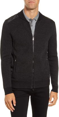 BOSS Baraldo Regular Fit Zip Sweater