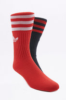 Adidas Red And Black Trefoil Socks Pack
