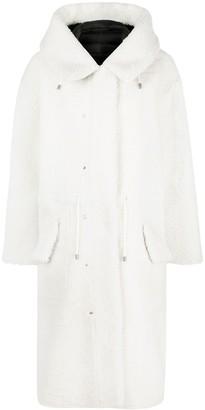 Mr & Mrs Italy Reversible Hooded Parka Coat