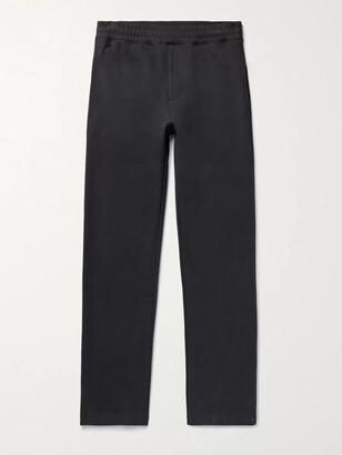The Row Alvaro Slim-Fit Cotton-Jersey Sweatpants - Men - Blue