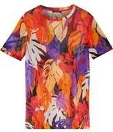 Balmain Printed Silk Top