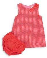Kate Spade Baby's Guipure Lace Shift Dress & Bloomers Set