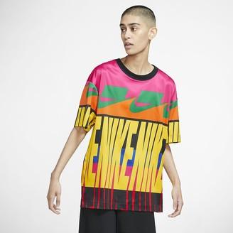 Nike Women's Short-Sleeve Printed Top Sportswear NSW