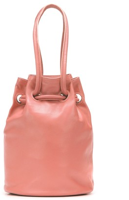 Mansur Gavriel Bucket Mini leather crossbody bag