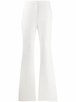 Alexander McQueen Sharp Flared Trousers
