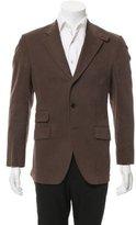 Etro Three-Button Woven Blazer