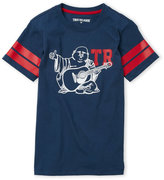 True Religion Boys 8-20) Buddha Tee
