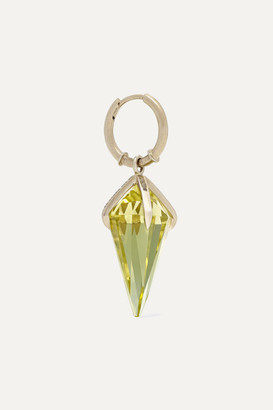 Ara Vartanian - 18-karat White Gold Citrine Earring