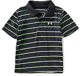 Under Armour Baby Boys 12-24 Months Playoff Striped Polo Shirt