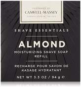 Caswell-Massey Almond Shave Soap Refill, 3.3 Ounce