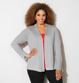 Avenue Shimmer Stone Button Cardigan