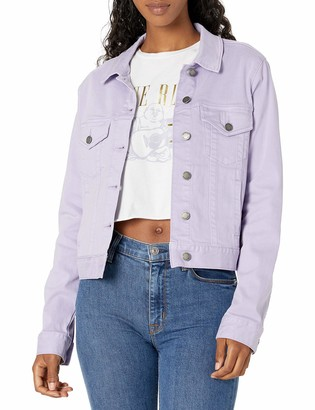 True Religion Women's Cropped Trucker Jacket