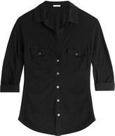 James Perse Jersey Cotton Shirt