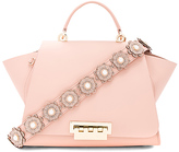 Zac Posen Eartha Soft Top Handle Bag in Blush.