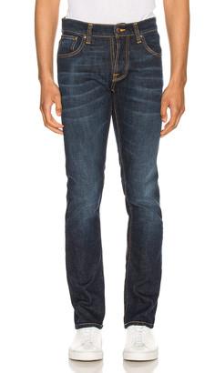 Nudie Jeans Grim Tim in Ventura Blue | FWRD