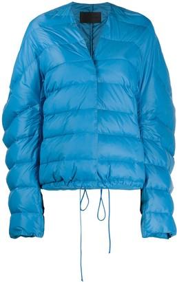 Christian Wijnants Zipped Padded Jacket