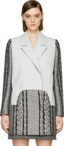 Viktor & Rolf Grey Cable Knit Coat
