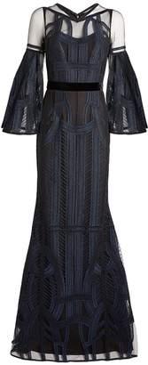 Amanda Wakeley Embroidered Maxi Dress
