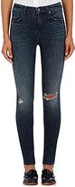 J Brand Women's Maria High-Rise Skinny Jeans-BLUE