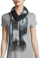 Fraas Fringed Multicolor Scarf