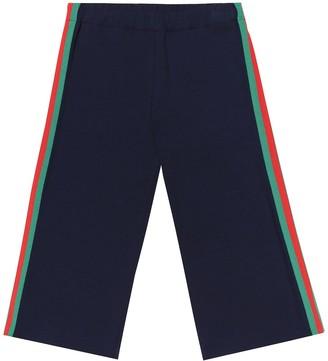 Gucci Kids Jersey trackpants