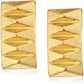 House Of Harlow Pyramid Stud Earrings