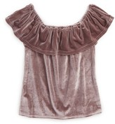 Girl's For All Seasons Off The Shoulder Top