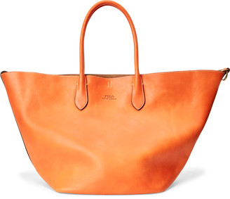 Ralph Lauren Leather Large Reversible Tote