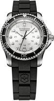 Victorinox Watch, Women's Maverick GS Black Rubber Strap 34mm 249048 - A Macy's Exclusive