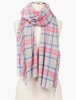 Talbots Holly Tartan Plaid Scarf