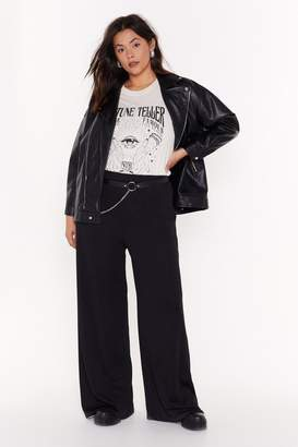 Möve Nasty GalNasty Gal Womens It Plus Wide-Leg Trousers - Black - 16, Black