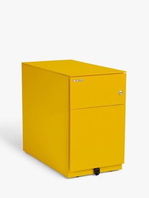 Bisley Pedestal 2 Drawer Filing Cabinet