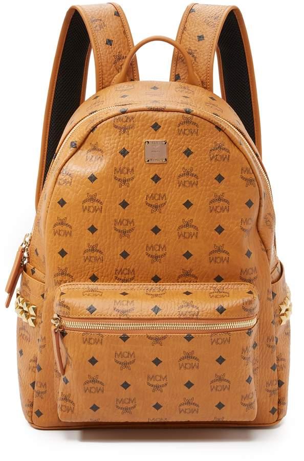 MCM Stark Medium Side Stud Backpack