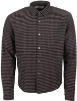 Our Legacy Shirt Cropped Initial 2163CISBGG Black Grey Gingham