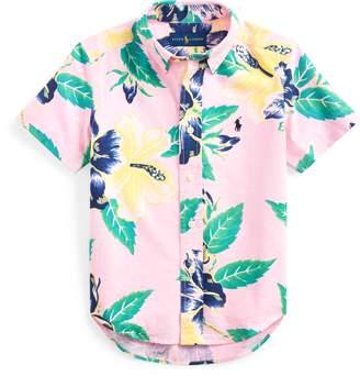 Ralph Lauren Floral Cotton Poplin Shirt