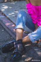 Forever 21 Buckled Stud Ankle Boots