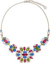 Ben-Amun Ben Amun Silver-Tone Crystal Necklace