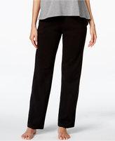 Hue Lace-Trim Pajama Pants