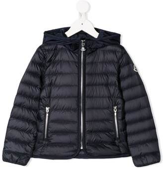 Moncler Enfant Hooded Padded Jacket